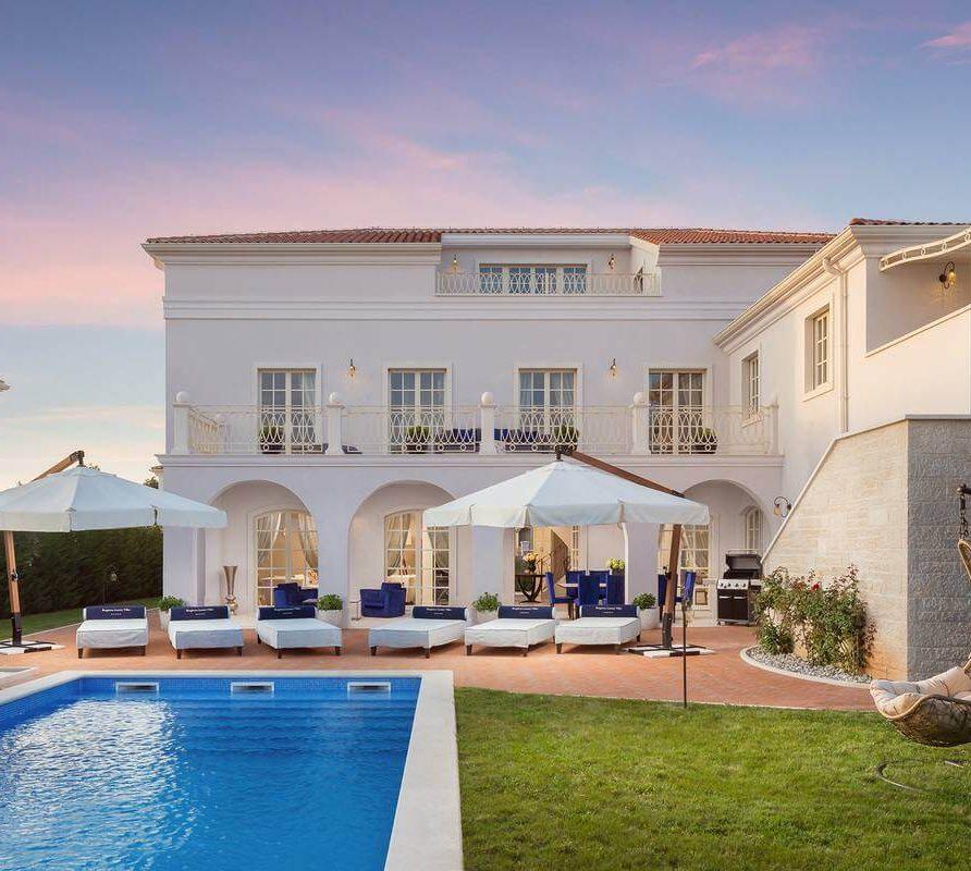Villa Hermitage*****